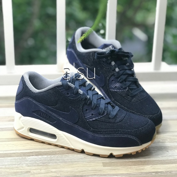 release date: e4850 98cb3 NWT Nike Air Max 90 Binary Blue WMNS